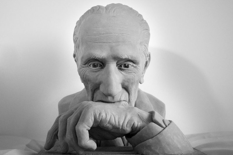 Avedon sculpture